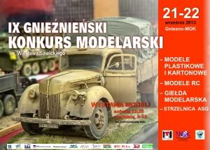 konkurs modelarski 2013 plakat